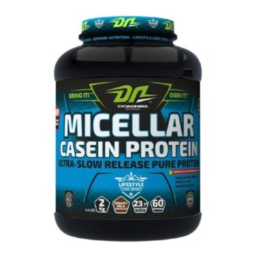 Domin8r Nutrition Micellar Casein, 4.4lb Creamy Milk Chocolate