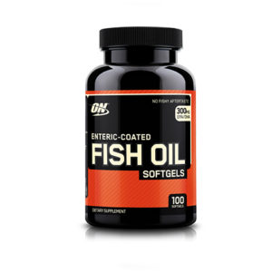 Optimum Nutrition Enteric Coated Fish Oil, softgels 100