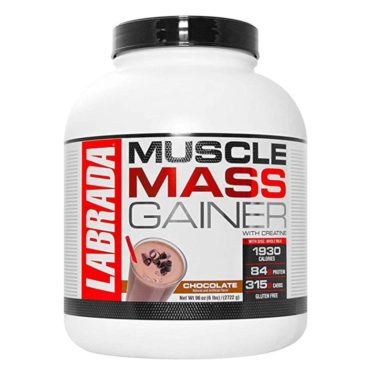 Labrada Muscle Mass Gainer, 6lb-chocolate