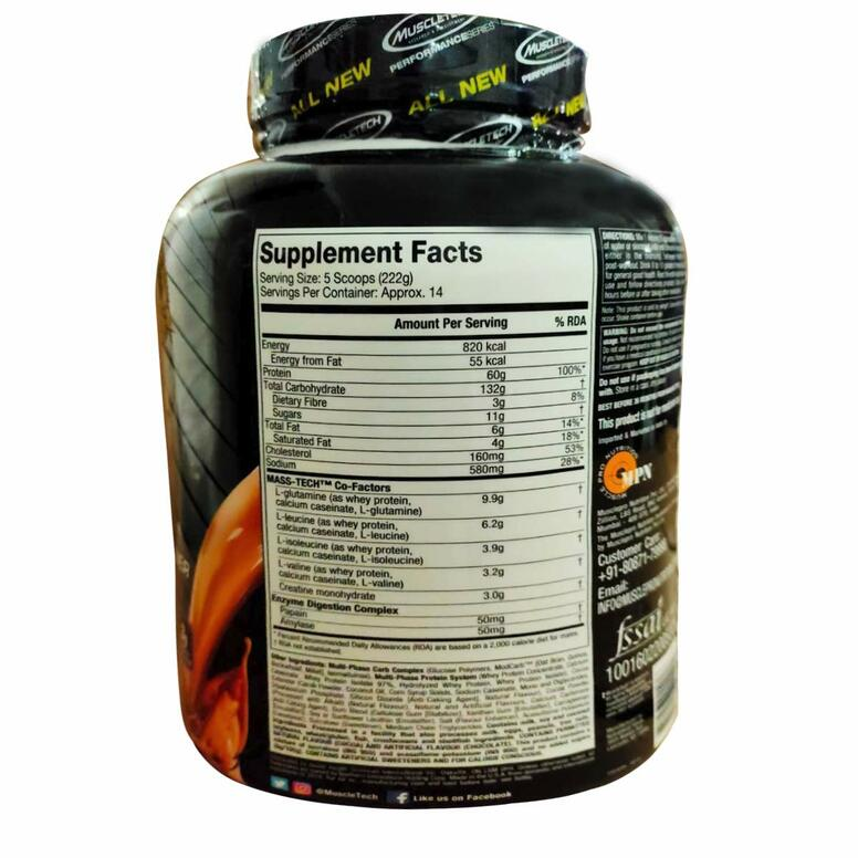 MuscleTech Mass Tech Performance Series - 7 lbs-2