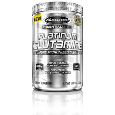 MuscleTech Platinum Glutamine, 0.67 Unflavored lb