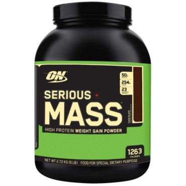 ON (Optimum Nutrition) Serious Mass 6 Lbs
