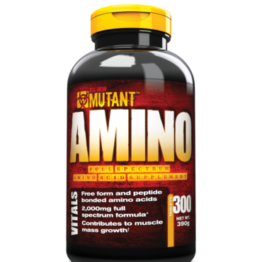 Mutant Amino Tablets 300 tablet(s) Unflavoured+Free Mutant IsoSurge Sample