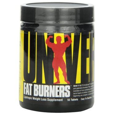 Universal Nutrition Fat Burner tablets - 100 tablets