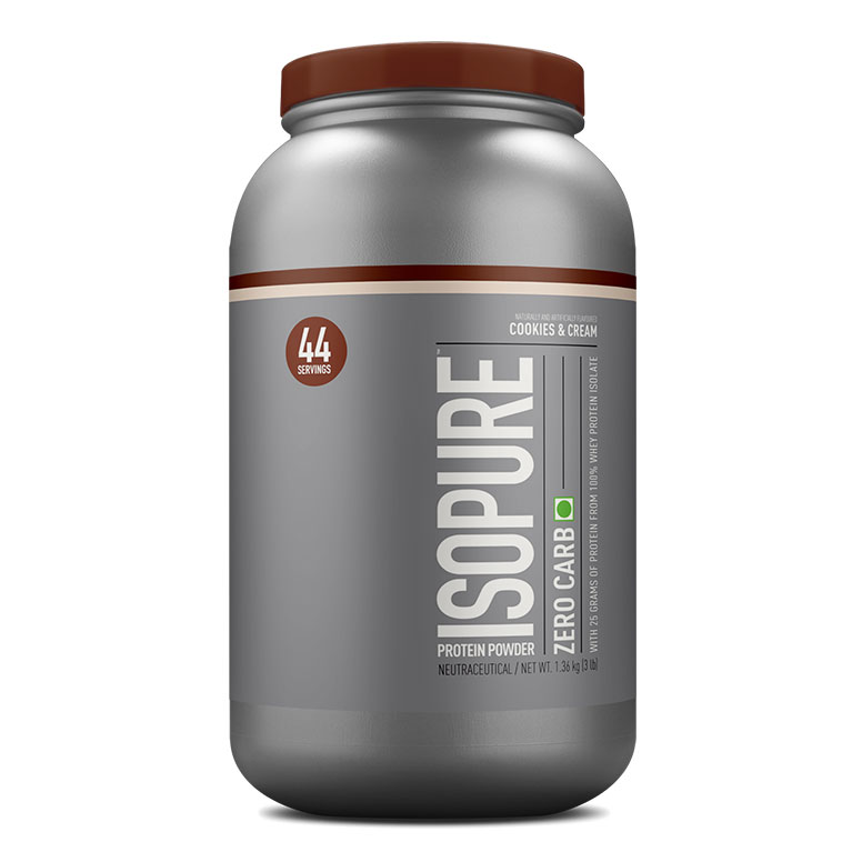 Nature's Best Isopure Zero Carb Protein Powder, 3 lb