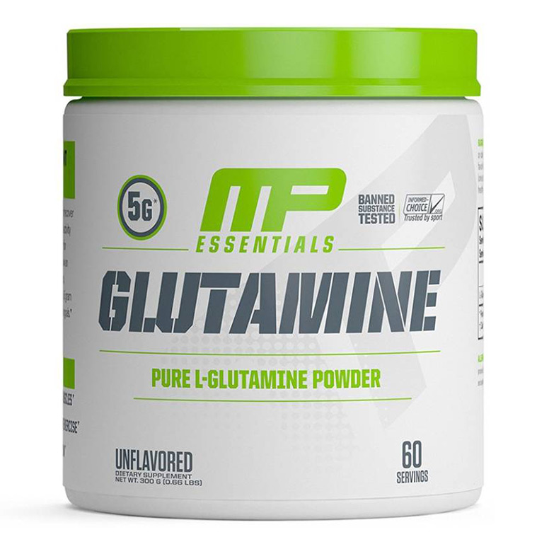 Buy MusclePharm Essentials Glutamine 300g | HealthXP