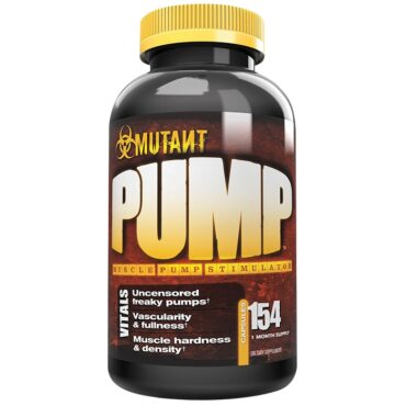 Mutant Pump 154 Caps By Redasoft (Expiry Jan-2019)