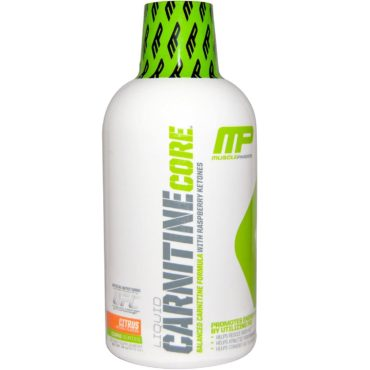 MusclePharm Carnitine Core Liquid Diet Supplement, Citrus, 30 Servings 16 oz 473ml Required fields are marked *