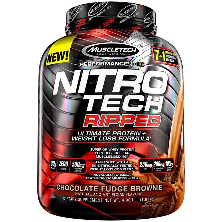 MuscleTech Nitrotech Ripped – 4lb (1.81kg)