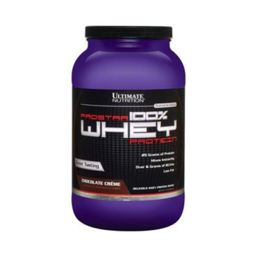 Ultimate Nutrition Prostar 100% Whey Protein, 1 lb Chocolate Cream