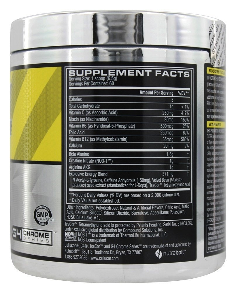 CELLUCOR C4 Pre-Workout 60 Servings By MPN
