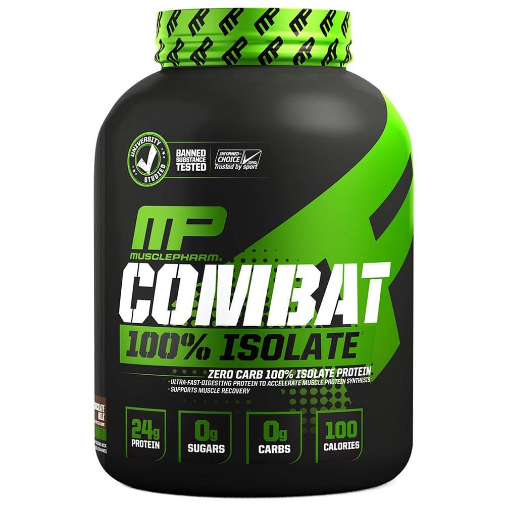 MusclePharm Combat Isolate, 5 lb- chocolate