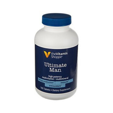 The Vitamin Shoppe Ultimate Man Multivitamin - 180 Tablets