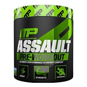 Musclepharm Assault Sports 30 Serving (Blue Raspberry)
