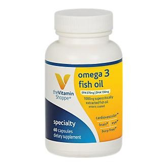 The Vitamin Shoppe - Omega 3 Fish Oil 300 Epa / 200 Dha, 60 Softgels