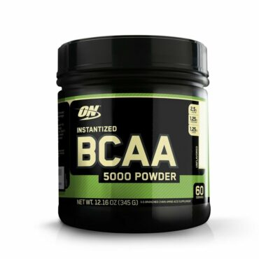On(Optimum Nutrition) Instantized BCAA 5000mg Powder, Unflavored, 345g