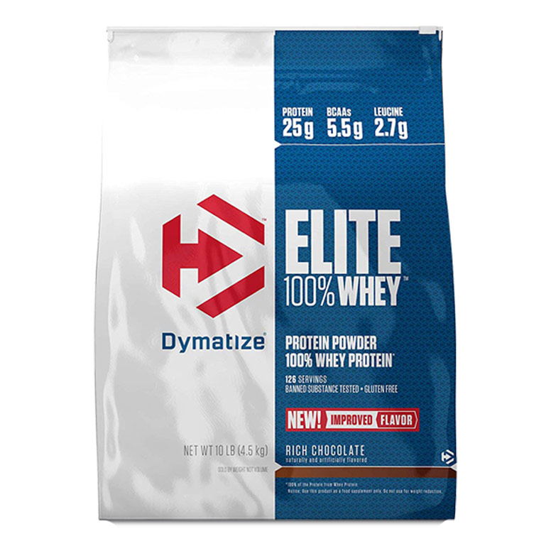 Buy Dymatize Elite 100% Whey Protein, 10 lbs