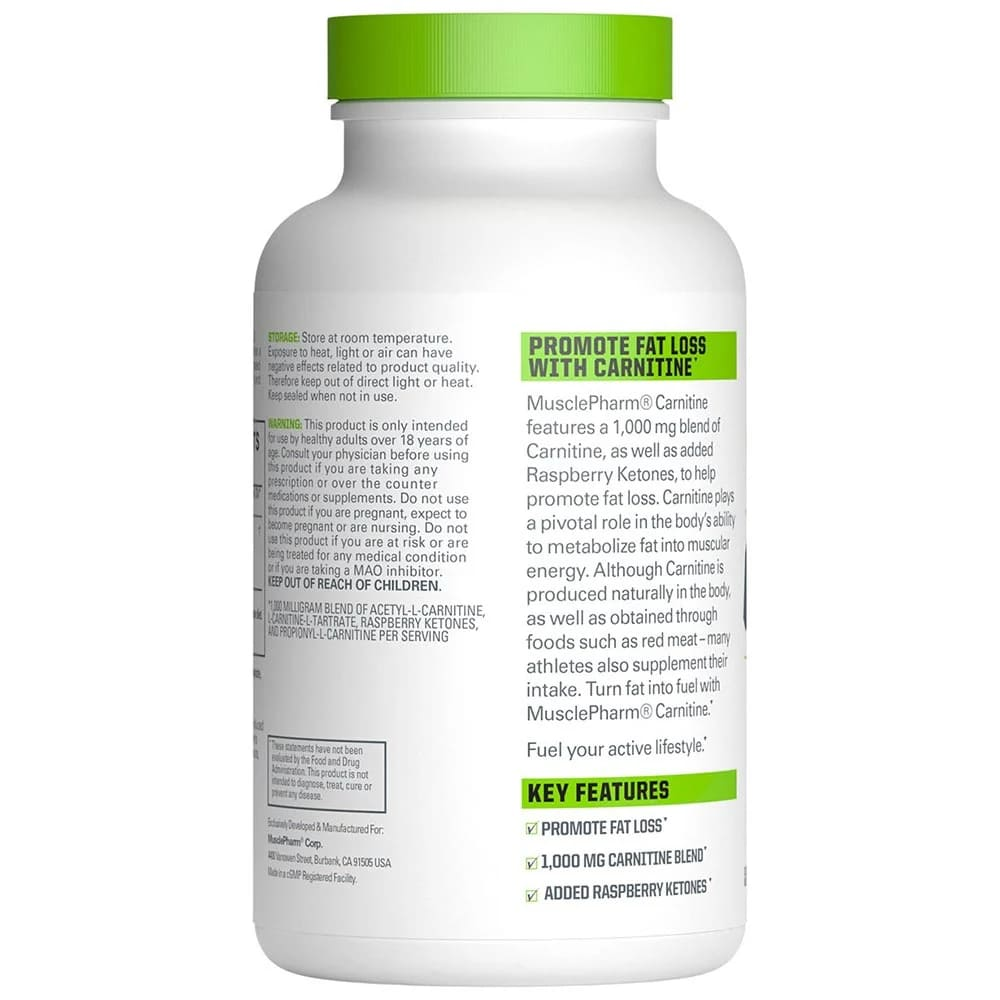 MusclePharm Carnitine Core 60 Capsules-2