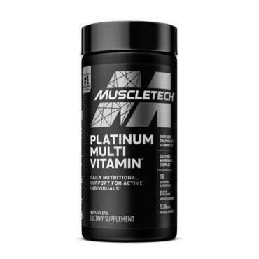 MuscleTech Multi Vitamin, Unflavoured 90 tablet