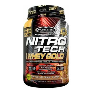 MuscleTech Nitrotech 100% Whey Gold 2.24lbs