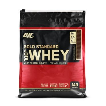 ON (Optimum Nutrition) Gold Standard 100% Whey Protein 10Lbs