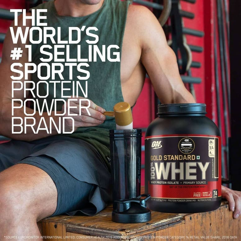 ON Gold Standard Whey Protein 5Lb-5