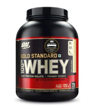 ON (Optimum Nutrition) Gold Standard 100% Whey Protein 5Lbs