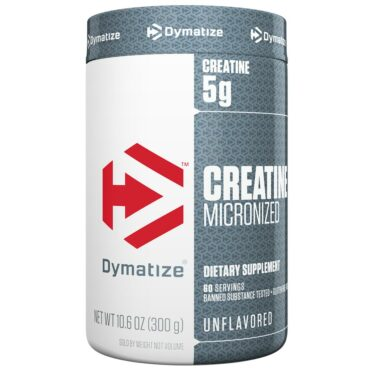 Dymatize Creatine Micronized, Unflavoured 0.66 lb
