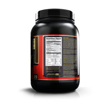 ON (Optimum Nutrition) Gold Standard 100% Whey Protein 2Lbs nutritional facts