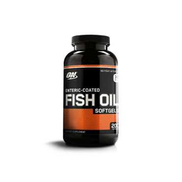 Optimum Nutrition Enteric Coated Fish Oil, softgels 200