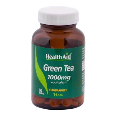HealthAid Green Tea Extract (1000 mg), 60 tablet(s) Unflavoured