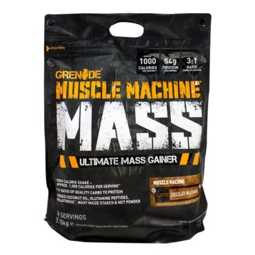 Grenade Muscle Machine Mass - 12.6 lbs (Chocolate Milkshake)
