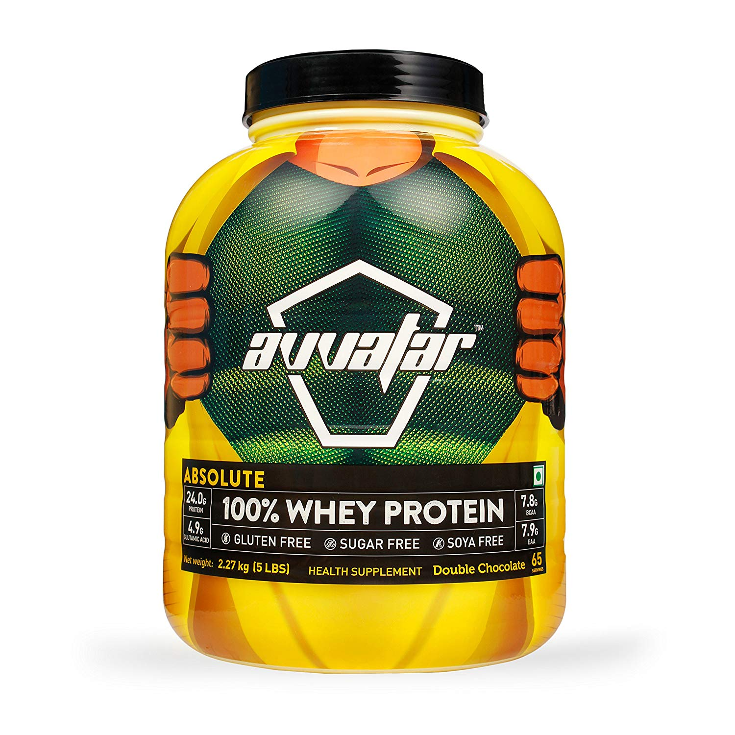 Buy Avvatar 100% Whey Protein 5 lbs Double Chocolate