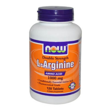 Now L-Arginine Amino Acid, 120 tablet(s)