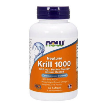 Now Neptune Krill Oil (1000mg), 60 softgels
