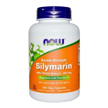 Now Silymarin Milk Thistle Extract, 200 veggie capsule(s)