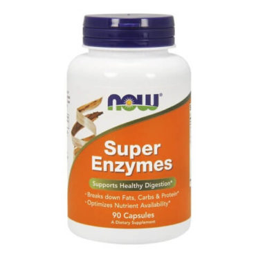 Now Super Enzymes, Capsules