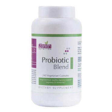 Zenith Nutrition Probiotic Blend, 240 capsules