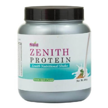 Zenith Nutrition Protein Nutritional Shake, 1.1 lb Chocolate