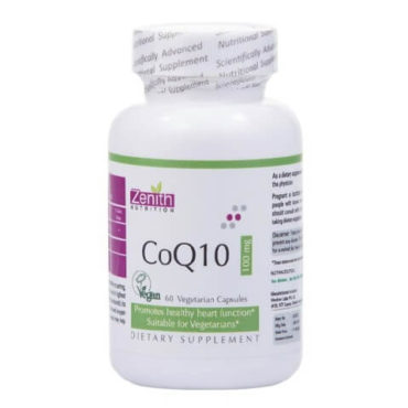 Zenith Nutrition CoQ10 (100 mg), 60 capsules