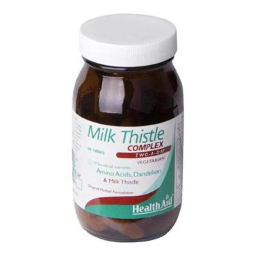 HealthAid Milk Thistle Complex, 60 chewable tablet(s)