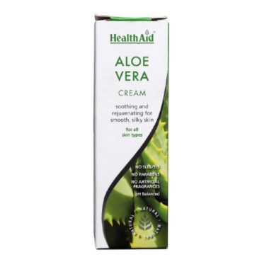 HealthAid Aloe Vera High Potency Cream, 75 ml All Skin Type