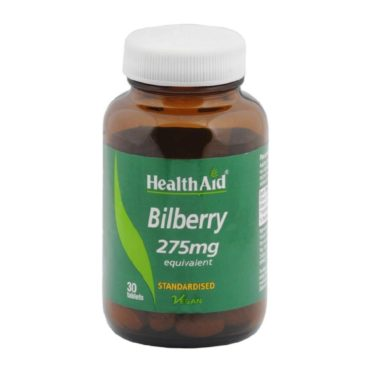 HealthAid Bilberry (275 mg), 30 tablet(s)