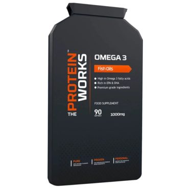 The Protein Works Omega 3, (Fish Oil) 90 softgels