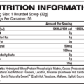 Gaspari-Nutrition-Precision-Hydrolyzed-Whey-Protein-4lbs supplements facts