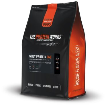 The Protein Works Whey Protein 360, 2.65 lb