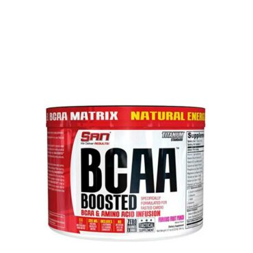 SAN BCAA Boosted Furious Fruit Punch 40 Servings