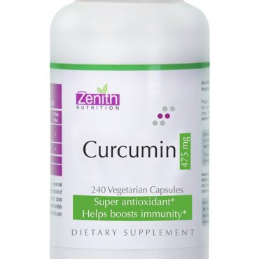 Zenith Nutrition Curcumin 475mg - 240 Capsules