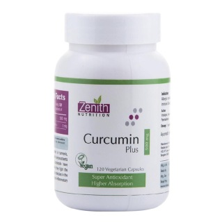 Zenith Nutrition Curcumin Plus – 500 mg – 120 Capsules