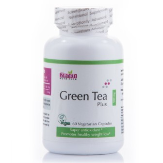 Zenith Nutrition Green Tea Plus - 500 mg - 60 Capsules